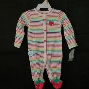 Sweet Strawberry Newborn Onsie